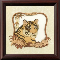 Save Tiger 8 x 8