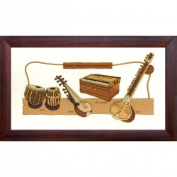 Indian Musical Instruments 7 X 12