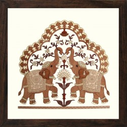 Two Elephant Trunk up 12 x 12