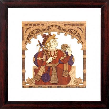 Rajastani Folk Art 1 10 x 10
