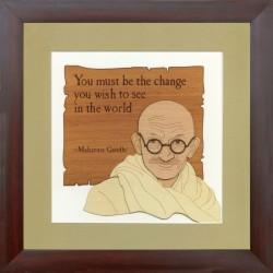 Mahatma Gandhi 10 x 10