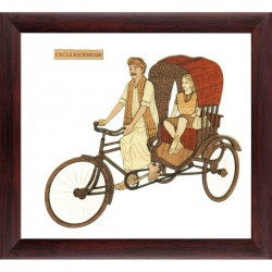 Cycle Rikshaw 9 x 10