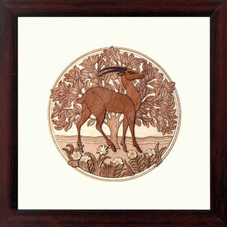 Deer ( Round)10 x 10