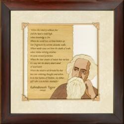 Ravindranath Tagore 10 x10